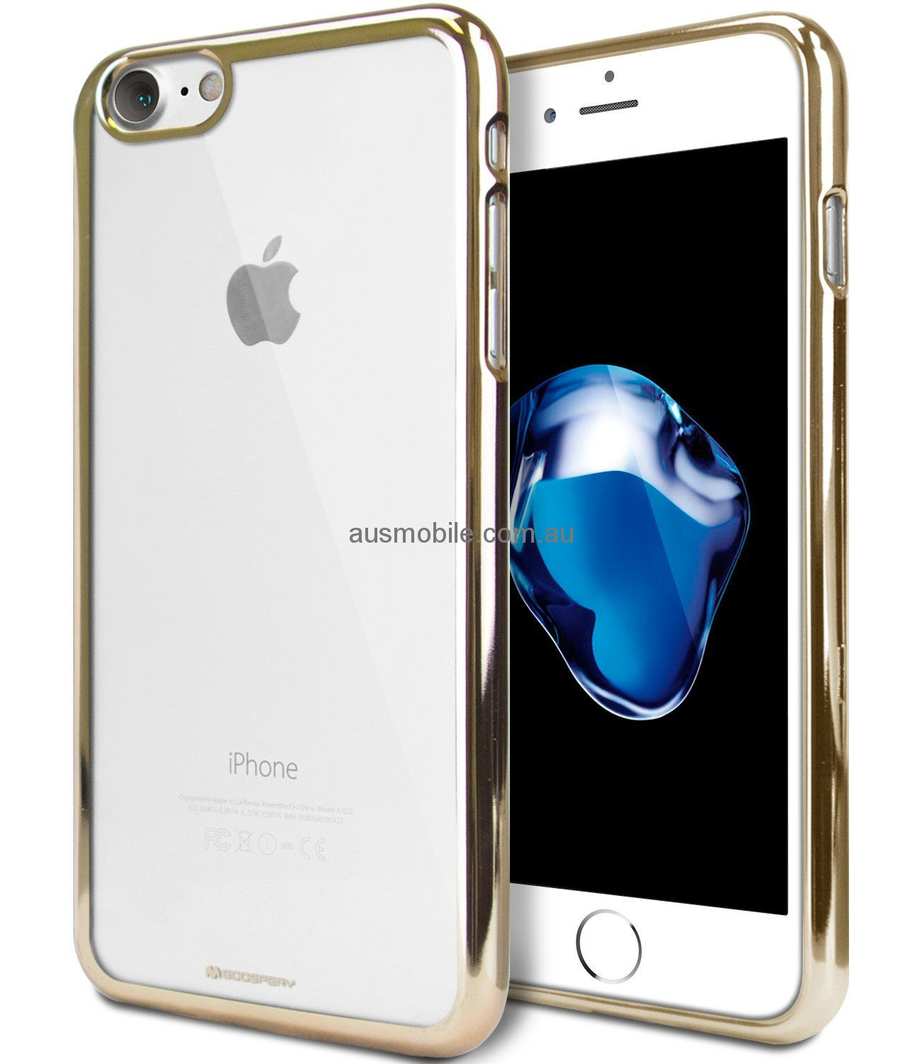 promo code 478f5 ba856 GOOSPERY Ring 2 Jelly Case [Ultra Slim Fit] [Flexible] TPU Bumper Case  [Anti-Discolouring Finish] for Apple iPhone 5 / iPhone 5S / iPhone SE - GOLD