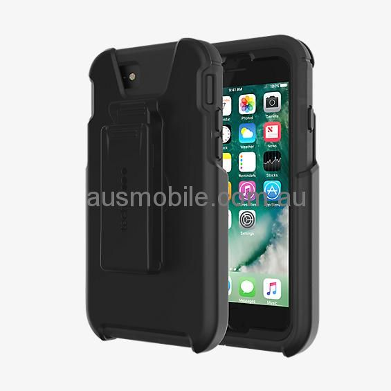 buy online 6b84f a0e96 TECH21 EVO TACTICAL EXTREME EDITION CASE FOR iPhone 6 Plus / iPhone 6S Plus  / iPhone 7 Plus / iPhone 8 Plus - BLACK